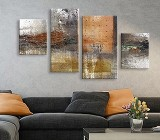 Abstract Stains canvas prints