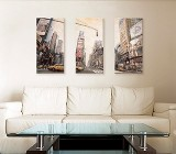 Cities canvas prints