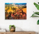 Village canvas prints