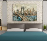 Decorative Cities canvas prints