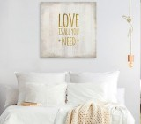 Sayings canvas prints