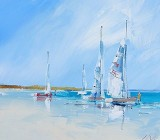 Sailboat canvas prints