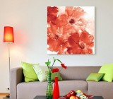 Red Flowers canvas prints