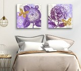 Violet Flowers canvas prints