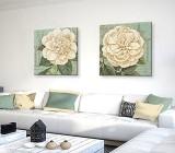 Cuadros Flores Verdes