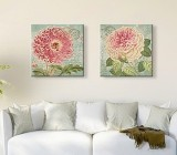 Pink Flowers canvas prints