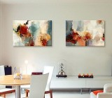 Modern Living Room canvas prints