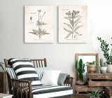 Rustic Living Room canvas prints