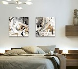 Modern Bedroom canvas prints