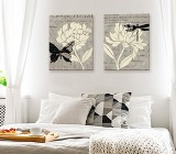 Flowers Bedroom canvas prints